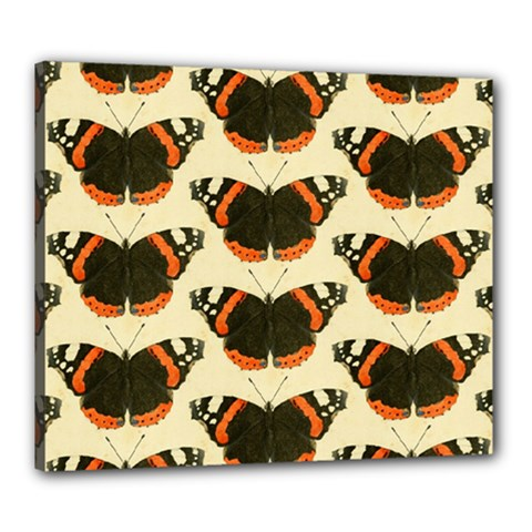 Butterfly Butterflies Insects Canvas 24  X 20  by BangZart