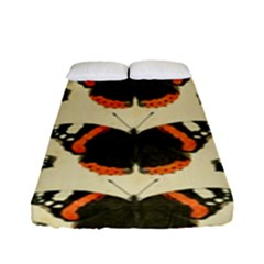 Butterfly Butterflies Insects Fitted Sheet (full/ Double Size)