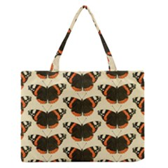 Butterfly Butterflies Insects Zipper Medium Tote Bag