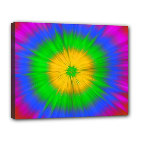 Spot Explosion Star Experiment Canvas 14  X 11