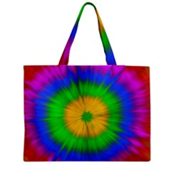 Spot Explosion Star Experiment Zipper Medium Tote Bag