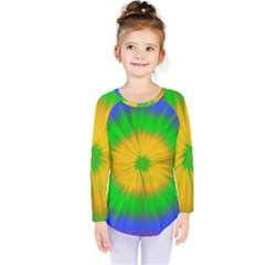 Spot Explosion Star Experiment Kids  Long Sleeve Tee