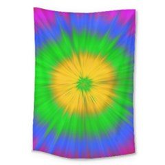 Spot Explosion Star Experiment Large Tapestry