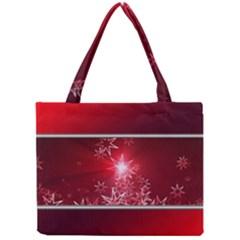 Christmas Candles Christmas Card Mini Tote Bag by BangZart