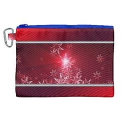 Christmas Candles Christmas Card Canvas Cosmetic Bag (xl) by BangZart