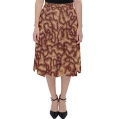 Brain Mass Brain Mass Coils Folding Skater Skirt