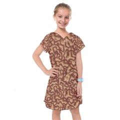 Brain Mass Brain Mass Coils Kids  Drop Waist Dress