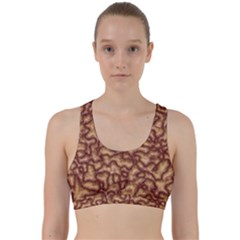Brain Mass Brain Mass Coils Back Weave Sports Bra