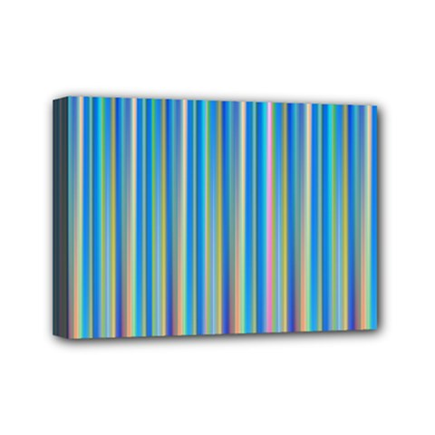Colorful Color Arrangement Mini Canvas 7  X 5