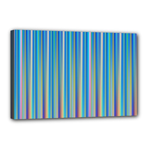 Colorful Color Arrangement Canvas 18  X 12