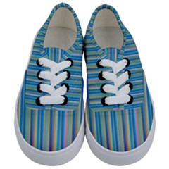 Colorful Color Arrangement Kids  Classic Low Top Sneakers