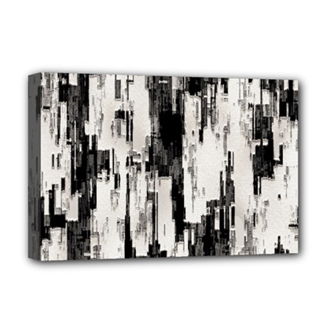 Pattern Structure Background Dirty Deluxe Canvas 18  X 12