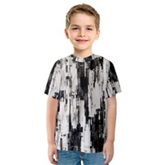 Pattern Structure Background Dirty Kids  Sport Mesh Tee