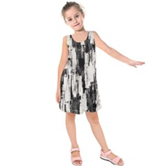 Pattern Structure Background Dirty Kids  Sleeveless Dress