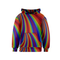 Abstract Pattern Lines Wave Kids  Pullover Hoodie