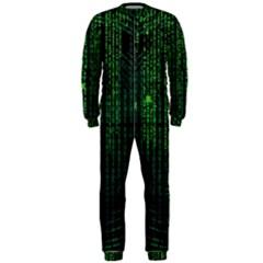 Matrix Communication Software Pc Onepiece Jumpsuit (men)