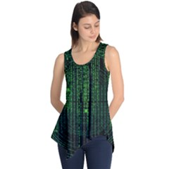 Matrix Communication Software Pc Sleeveless Tunic