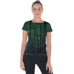 Matrix Communication Software Pc Short Sleeve Sports Top