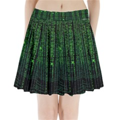Matrix Communication Software Pc Pleated Mini Skirt