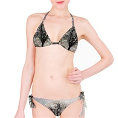 Snow Snowfall New Year S Day Bikini Set
