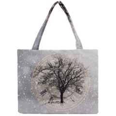 Snow Snowfall New Year S Day Mini Tote Bag