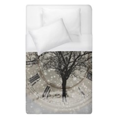 Snow Snowfall New Year S Day Duvet Cover (single Size)