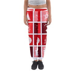 Christmas Map Innovative Modern Women s Jogger Sweatpants