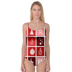 Christmas Map Innovative Modern Camisole Leotard