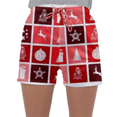 Christmas Map Innovative Modern Sleepwear Shorts