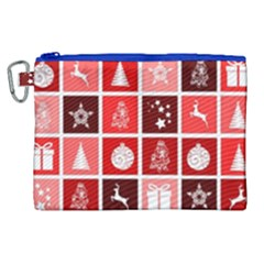 Christmas Map Innovative Modern Canvas Cosmetic Bag (xl) by BangZart