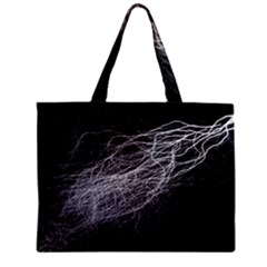 Flash Black Thunderstorm Zipper Mini Tote Bag