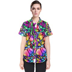 Network Nerves Nervous System Line Women s Short Sleeve Shirt