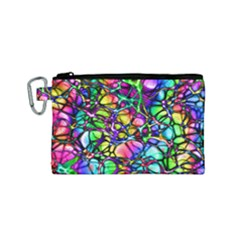 Network Nerves Nervous System Line Canvas Cosmetic Bag (small)