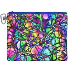 Network Nerves Nervous System Line Canvas Cosmetic Bag (xxxl) by BangZart