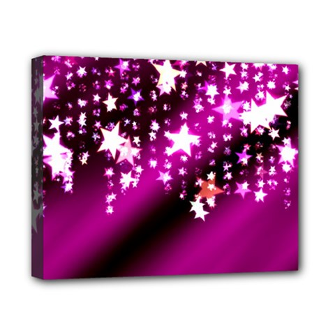 Background Christmas Star Advent Canvas 10  X 8