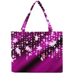Background Christmas Star Advent Mini Tote Bag by BangZart