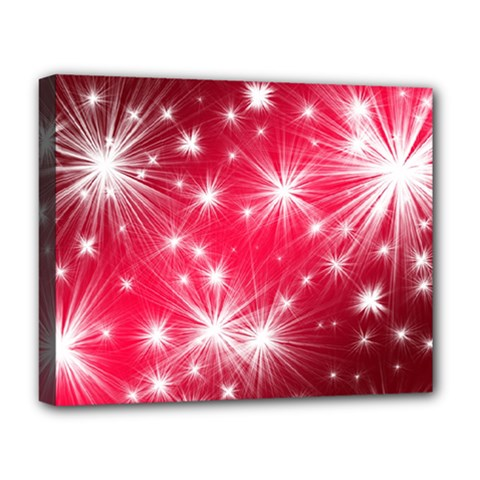 Christmas Star Advent Background Deluxe Canvas 20  X 16   by BangZart