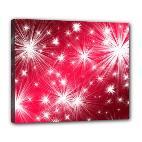 Christmas Star Advent Background Deluxe Canvas 24  X 20