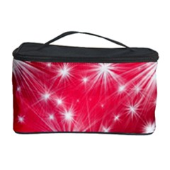 Christmas Star Advent Background Cosmetic Storage Case by BangZart