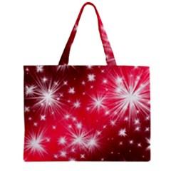 Christmas Star Advent Background Zipper Mini Tote Bag