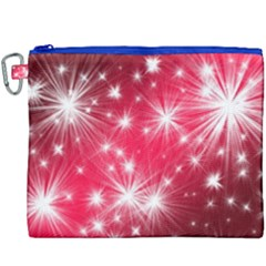 Christmas Star Advent Background Canvas Cosmetic Bag (xxxl) by BangZart