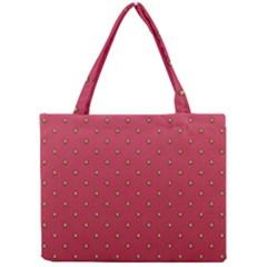 Strawberry Pattern Mini Tote Bag by jumpercat