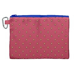 Strawberry Pattern Canvas Cosmetic Bag (xl) by jumpercat