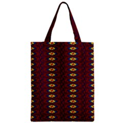 Geometric Pattern Classic Tote Bag by linceazul