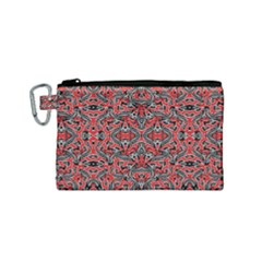 Exotic Intricate Modern Pattern Canvas Cosmetic Bag (small) by dflcprints