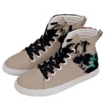 Breathe In Bold Men s Hi-Top Skate Sneakers