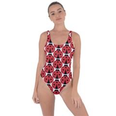 Ladybugs Pattern Bring Sexy Back Swimsuit