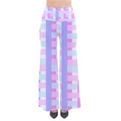Gingham Nursery Baby Blue Pink Pants