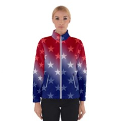 America Patriotic Red White Blue Winterwear by BangZart