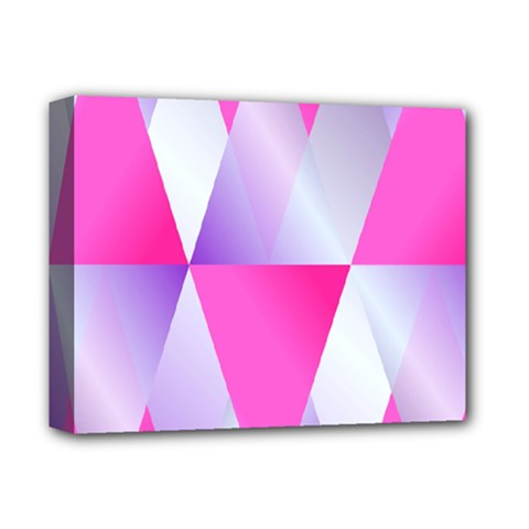 Gradient Geometric Shiny Light Deluxe Canvas 14  X 11  by BangZart